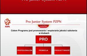 Pro Junior System PZPN szansą na dodatkowe fundusze