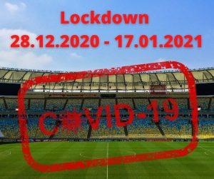 Lockdown polskiego sportu do 17 stycznia 2021 roku