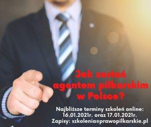 Jak zostać agentem piłkarskim w Polsce?