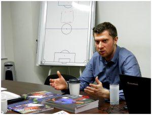 """MARCIN GABOR kolejnym Prelegentem na najbliższym szkoleniu online: """"Dyrektor sportowy w klubie piłkarskim""""!"""