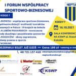 Zapraszamy na I Forum Współpracy Sportowo-Biznesowej!